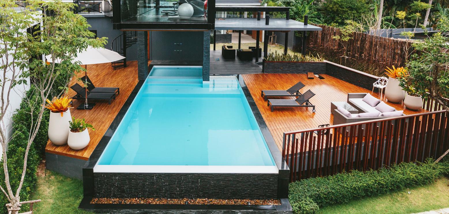 Paesaggi D Acqua Piscine piscine nere o grigie - piscine avantgarde - realizziamo la