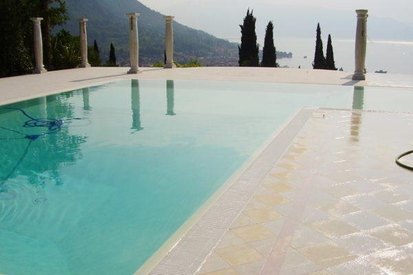 Le piscine ad acqua salata